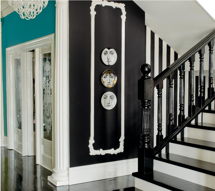 """20 Magical And Crafty Ways To Decorate An Indoor Staircase: 20 Best Room Inspirations Using """"Color Of The Day"""" Harmony"""