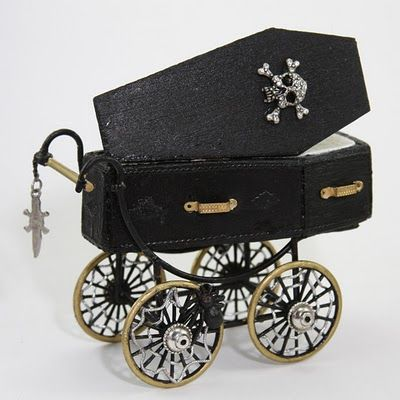 Addams Family style carriage.  I hate children, but if i had to... most definetly this