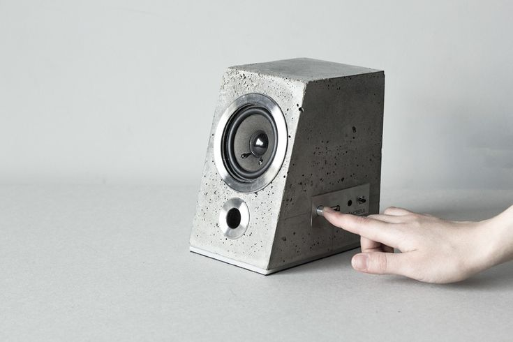 The Concretus is the kind of speaker that becomes the topic of conversation. Read more at Yanko Design