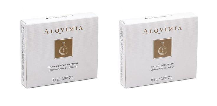 Alqvimia proponuje dwa rodzaje 100% naturalnego mydła Lawendowe i Królowa Egiptu