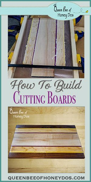How to make a cutting board – the perfect woodworking project for beginners! – Diy wood