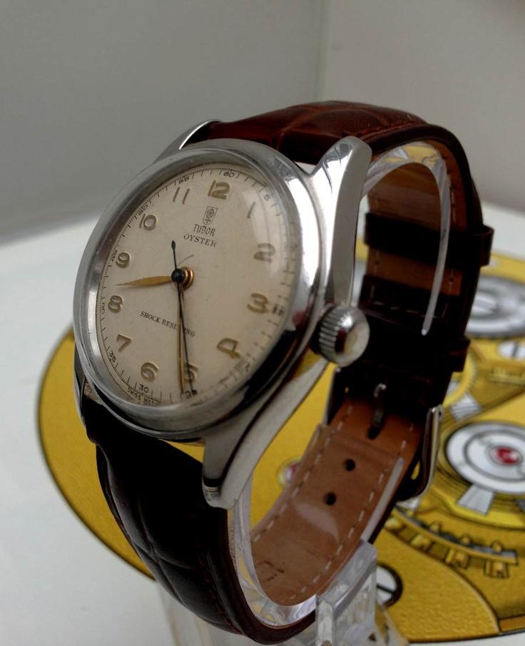 Rolex Tudor Oyster Shock Resisting #watches #tudor #rolex