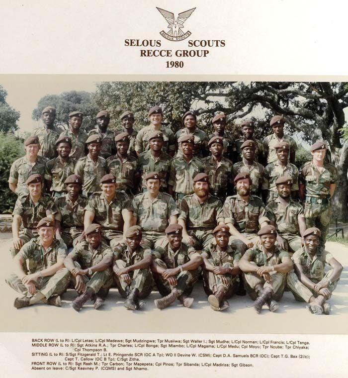 Scouts Recce Group 1980.jpg 700×760 pixels