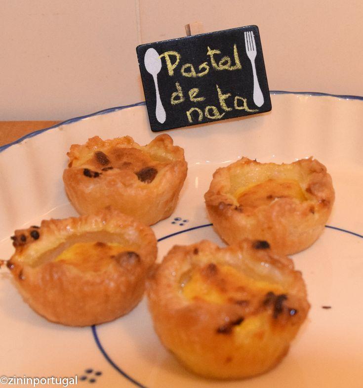 Pastel de Nata: een makkelijk recept. Lees het op https://zininportugal.wordpress.com/2015/06/14/pastel-de-nata-een-makkelijk-recept/