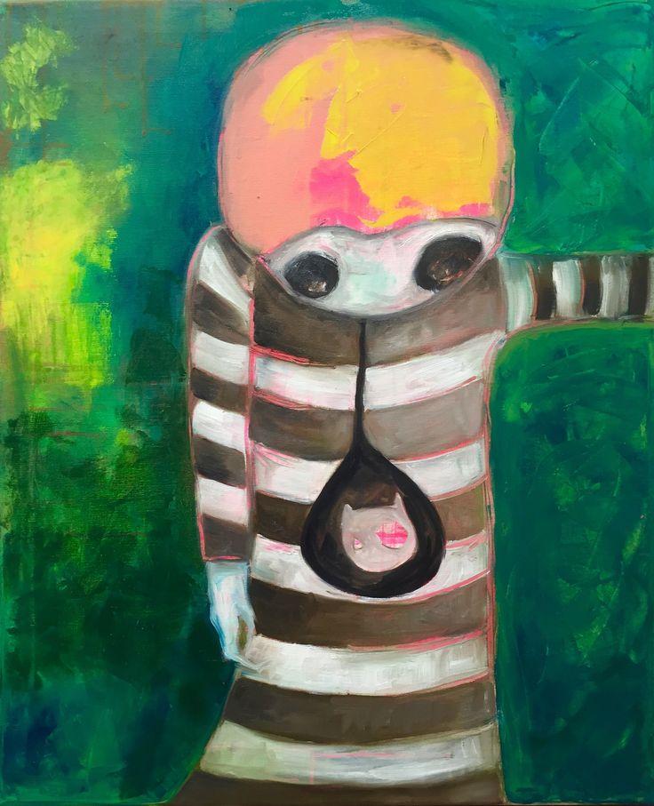 Helico, 2016 Oil on canvas Anu Pensola