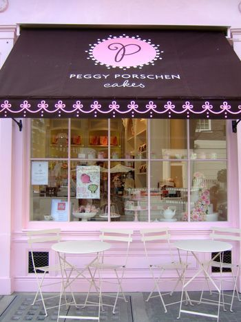 Peggy Porschen Cakes Love This Store Front Art And