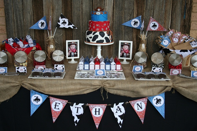 Cowboy Lolly Buffet - ADORABLE! :)