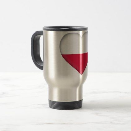 #Poland Flag Travel Mug - #country gifts style diy gift ideas