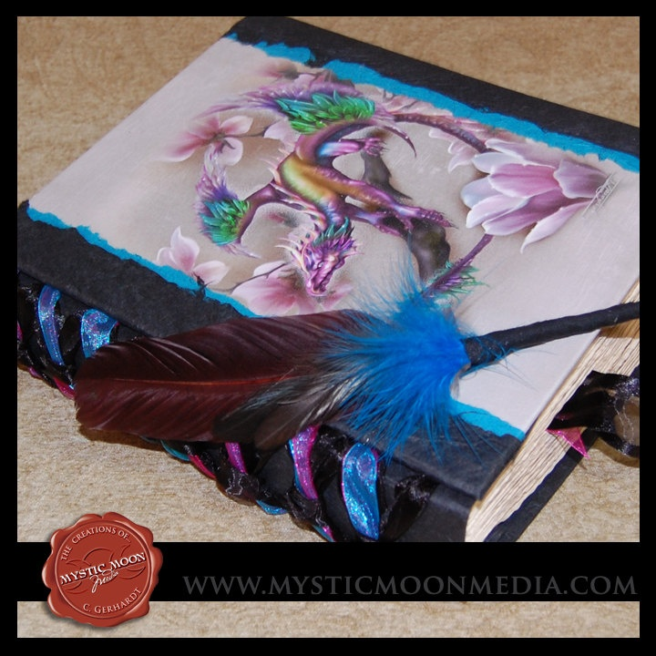 Spring Dragon Midnight TealXL Handmade by mysticmoonmedia on Etsy LOVE this BOS!!