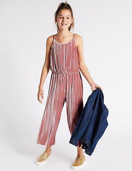 a74e10a180ab Velvet Jumpsuit (3-16 Years)