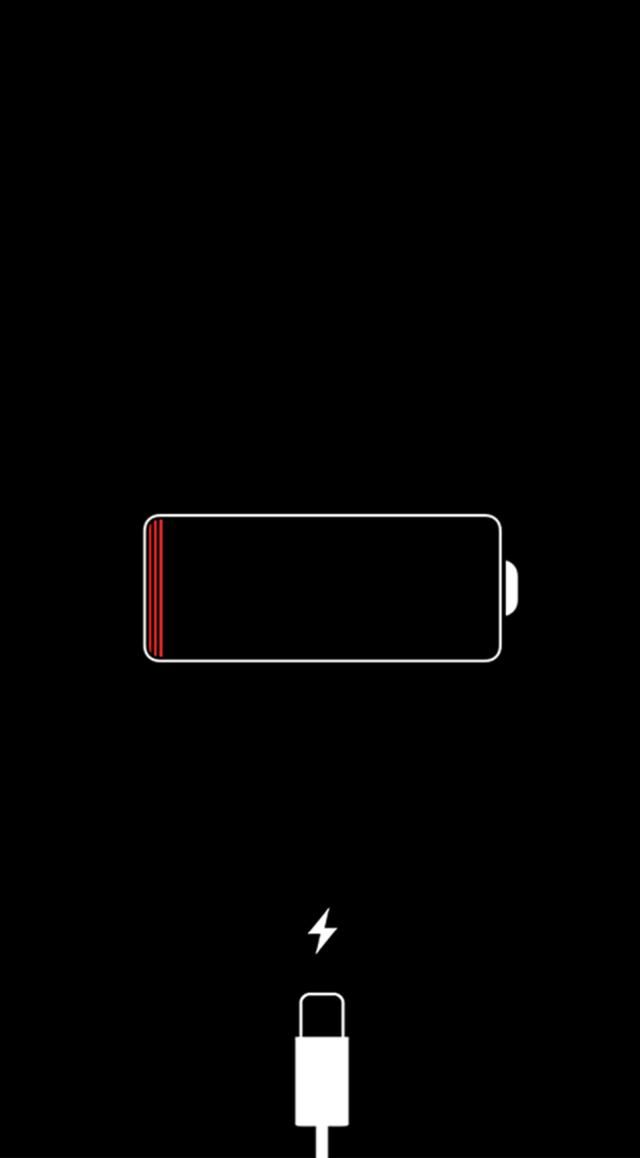 When your iPhone displays a red battery icon on the lockscreen, what's going on? Do you need to worry?