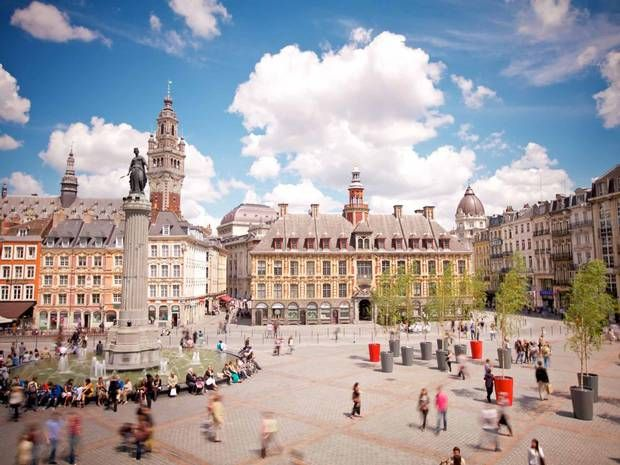 #Lille, France: This northern French city has a stunning modernist mansion on its outskirts to complement its atmospheric Flemish old town. #travel #citybreak