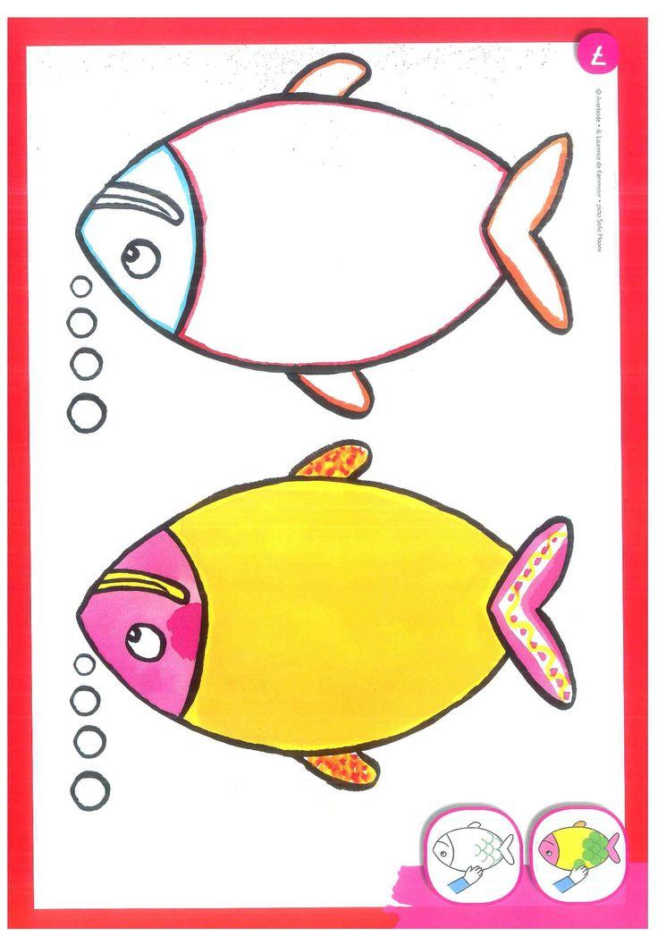 kleikaart | vissen