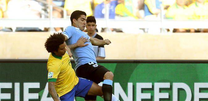 Se agotaron las 44,739 entradas para el partido Brasil - Uruguay, en el que Luis Suárez volverá a vestir la celeste. Febrero 29, 2016.