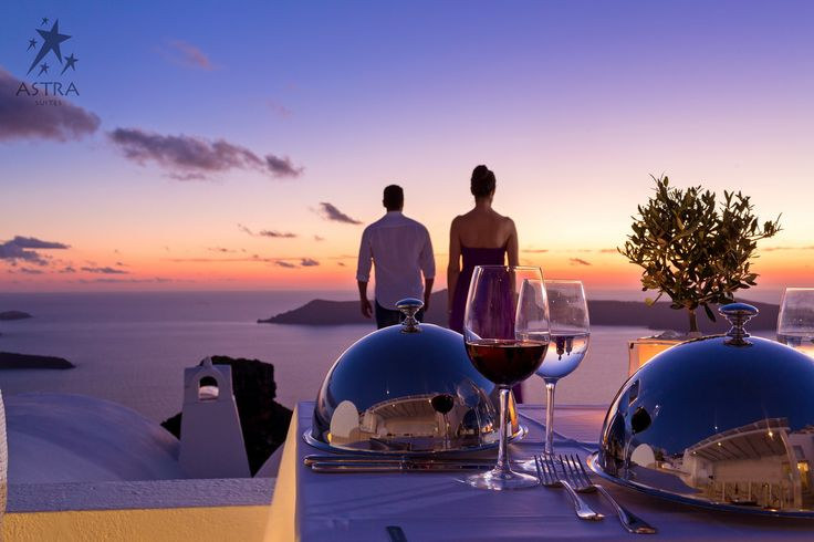 Feeling a bit more romantic today? If so, we can arrange a #gourmet candlelit #dinner to be served in the privacy of your suite's balcony in front of an idyllic setting... - at Astra Suites