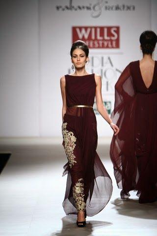 Rabani & Rakha - Wills Lifestyle Fashion Week Autumn/Winter 2014