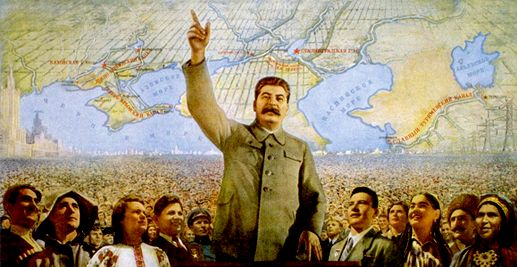 """""""When we hang the capitalists, they will sell us the rope we use.""""---Joseph Stalin."""