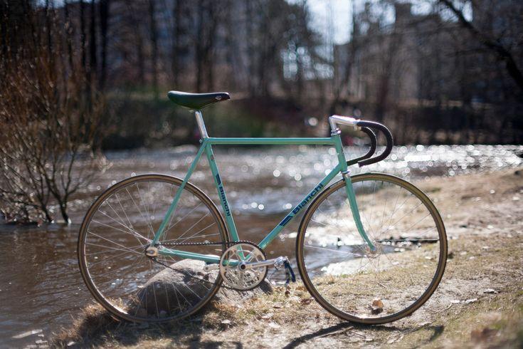 "Bianchi Pista ""Jesper Worre"" - Pedal Room"