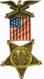 Civil War Medal of Honor- the GAR created a problem because its medal was so similar to the MOH.