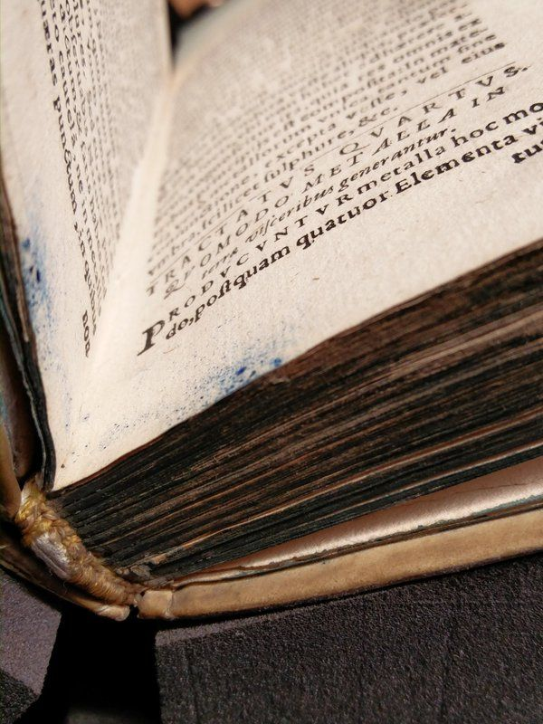 Fore-edge sprinklers gone wild! (contemporary #binding on a Koln 12mo)