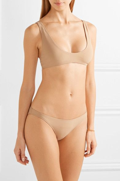 Rochelle Sara - The Mercer Stretch-jersey Briefs - Neutral -