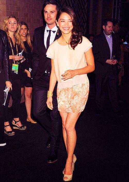 Beautiful Kristen Kreuk And Jay Ryan