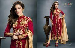 Maroon Colour Fancy Salwar suit