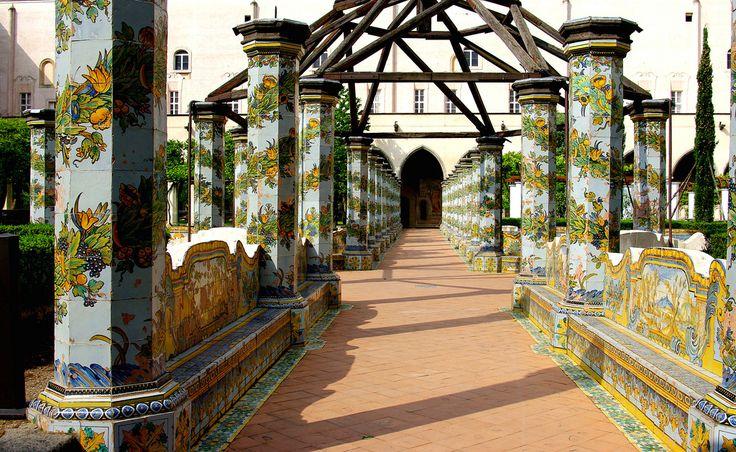 Italy - Monastero di Santa Chiara - Napoli