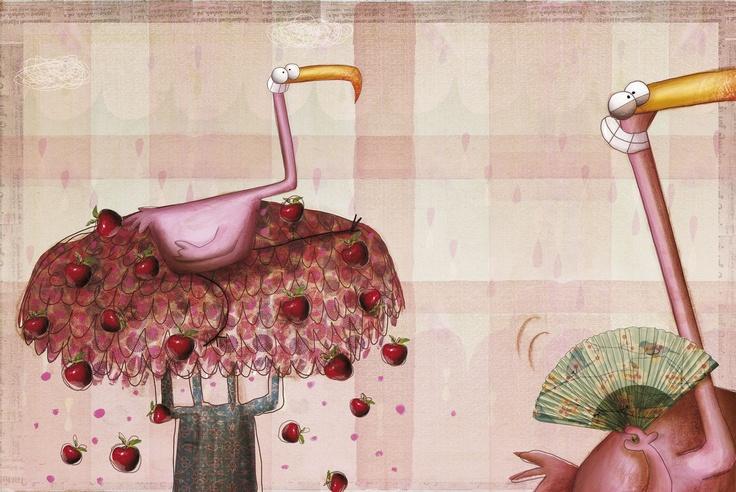 Anna Laura Cantone ilustra Emociones y sentimientos, un bello álbum con poemas de Roberto Piumini editado por Edelvives.