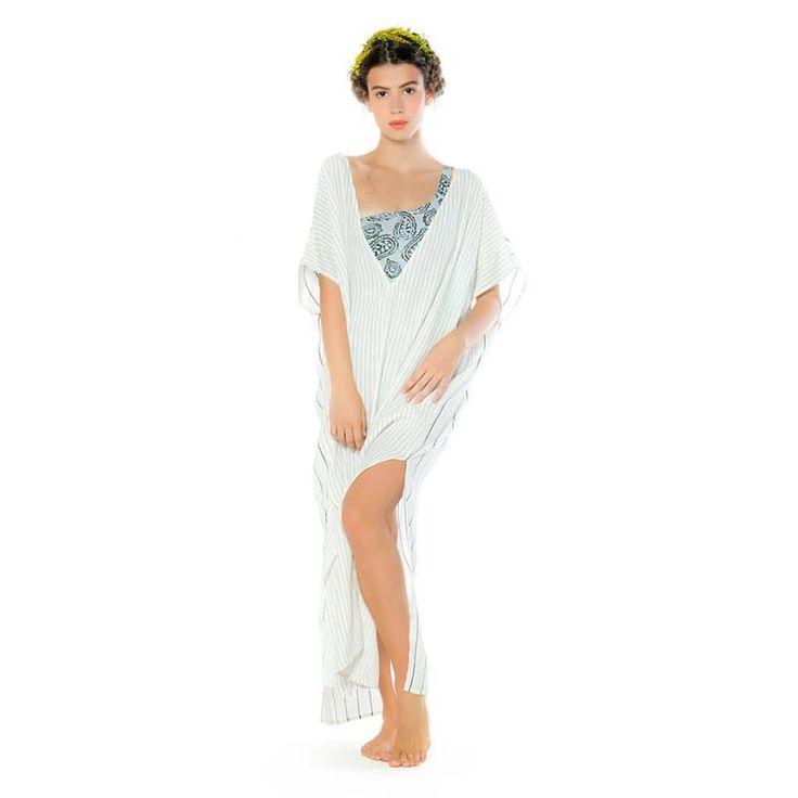 We welcome @maanislandwear swimwear & beachwear inspired by the endless greek summer ☀️ Your island life will be full of style & elegance  #stylebubbles #swimwear #beachwear #summer #bikini #onlineshopping #fashion #style
