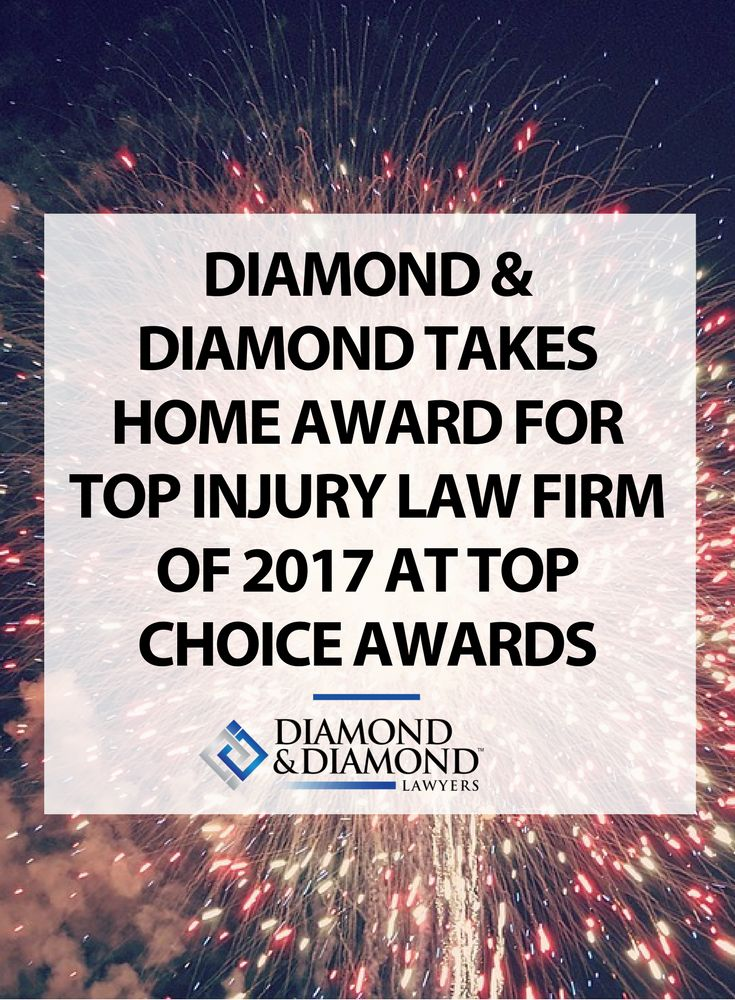 We had a great time at the Top Choice Awards in Toronto - taking home the Top Injury Law Firm of 2017 Award! Thank you to everyone who voted for us, we're incredibly grateful for this recognition. Watch the video here.