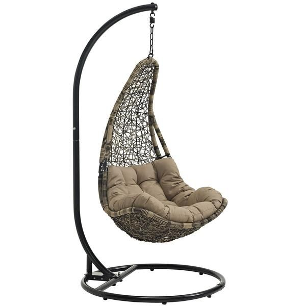 Abate Outdoor Patio Swing Chair With Stand EEI-2276