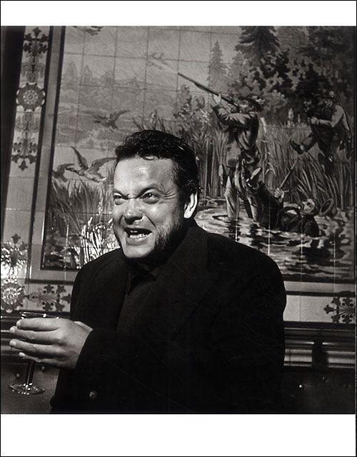 Orson Wells par Doisneau