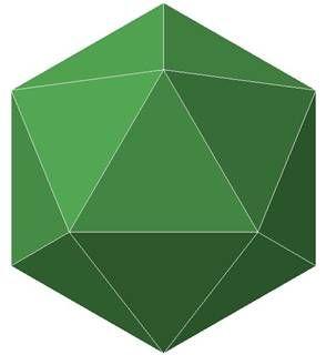 icosahedron shadow - Google zoeken