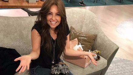 Video | Thalía encontró un ratón en su casa y esta fue su reacción - RPP