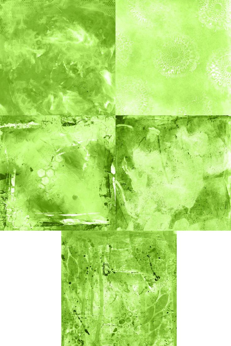 Lime Background Papers Set 1 of 2 by StudiosuzybAustralia on Etsy