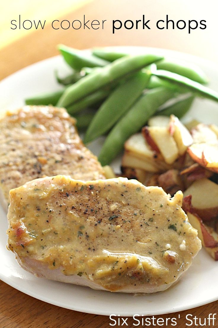 Pork loin cutlet recipes slow cooker