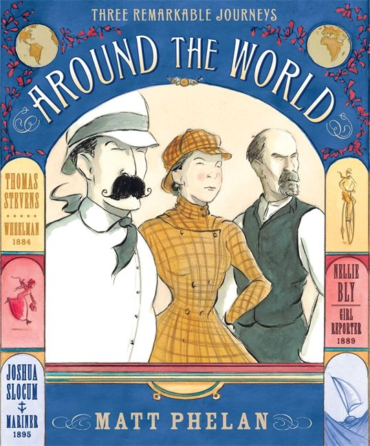 """Great Book Club pick: Around the World by Matt Phelan. """"You can say some things in pictures that you can't say in words."""""""