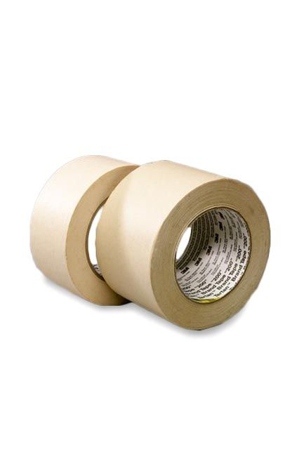 Tartan masking tape 200: Utility purpose paper tape. A non-critical masking and holding tape.