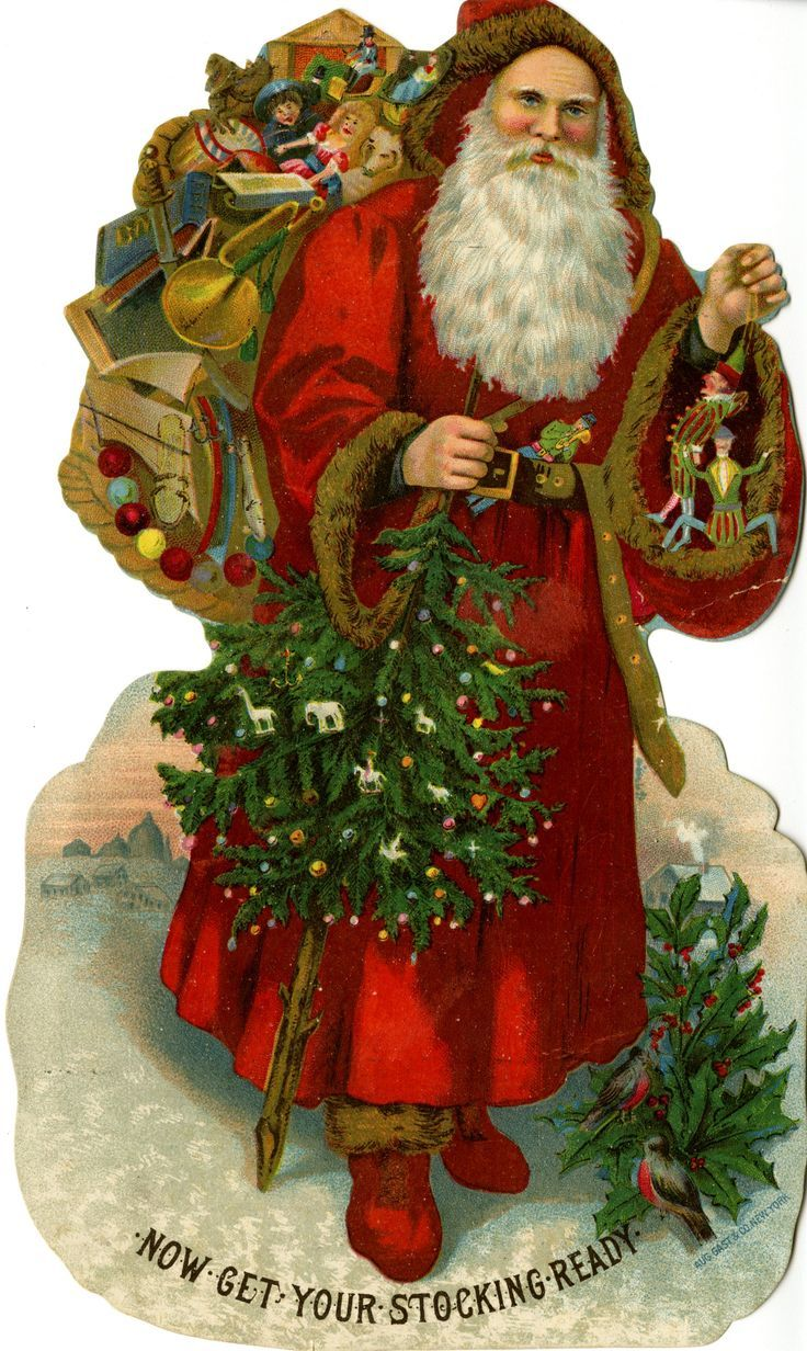 Saint Nicholas Happy Holiday