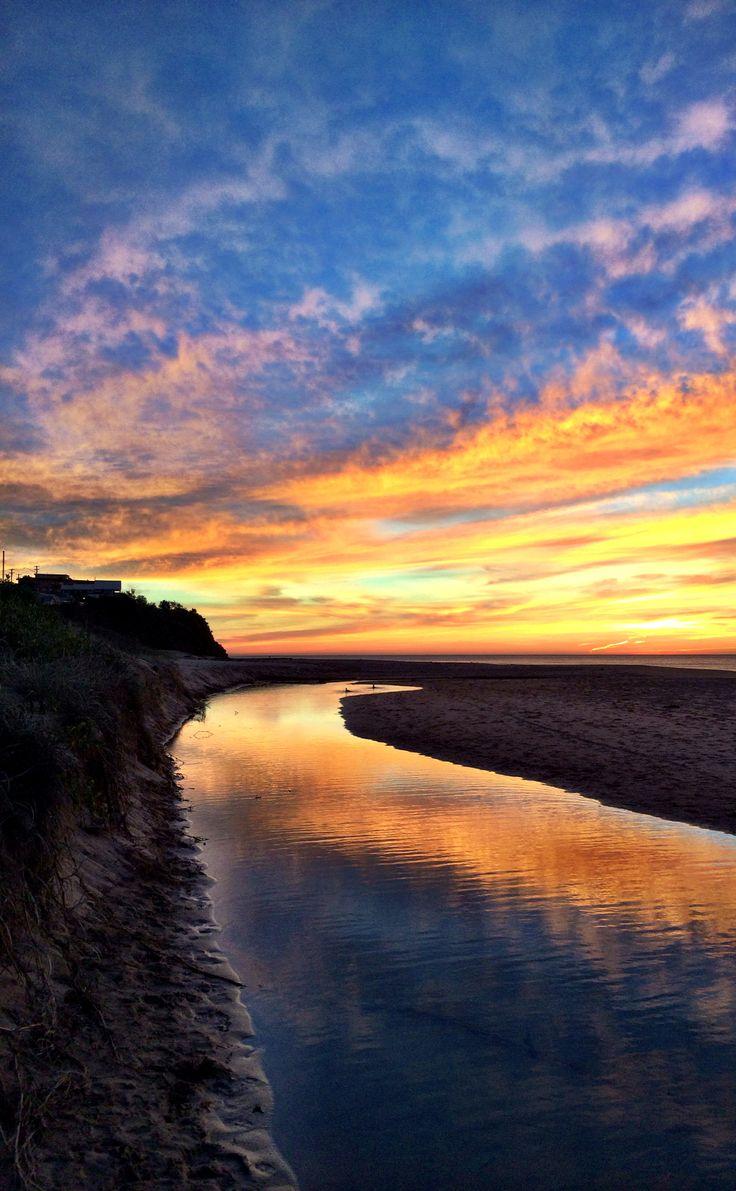 Sunrise over Thirroul beach