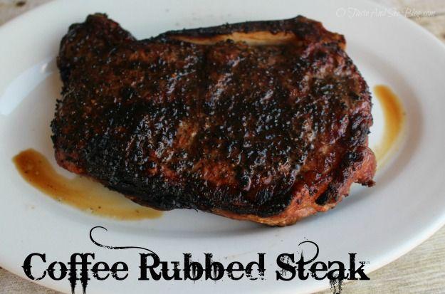 Coffee Rubbed Steak