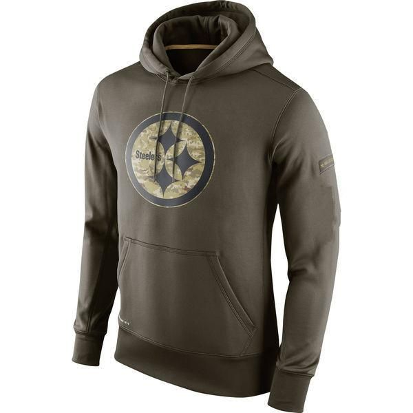 Pittsburgh Steelers Salute to Military Pullover Sweatshirt