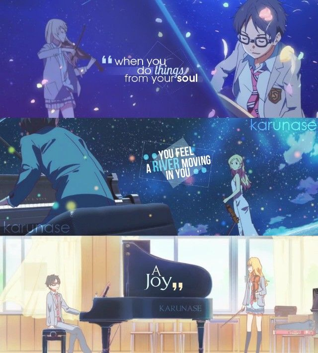 """When you do things from your soul, you feel a river moving in you, a joy.."" 