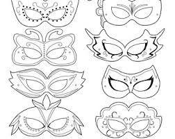masquerade printable - Google Search