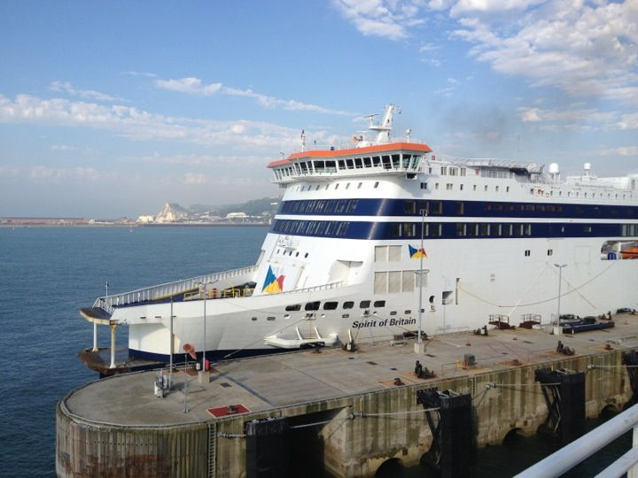 Dover Ferry Terminal in Dover, Kent