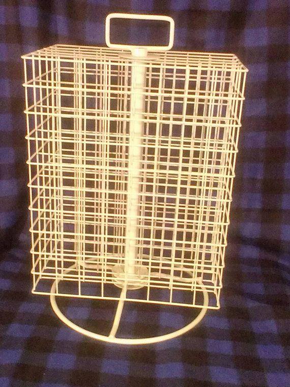Spinning paint rack storage organizer holds 160 by ANNIEDUSTYATTIC