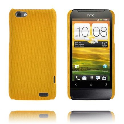 Supreme (Tummankeltainen) HTC One V Suojakuori