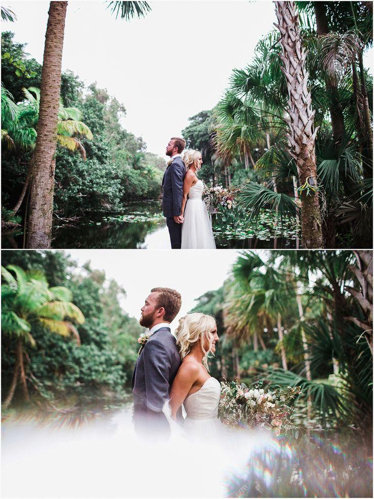 Vintage Florida - Bonnet House Styling - The ALTARnative Florals - Coastal Blossoms www.chelseaerwin.com #vintageflorida #bonnethouse #bride #groom #southernweddings #portraits #nontraditional #southfloridaweddings