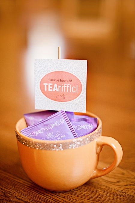 FREE Printable Gift Tag for Tea!